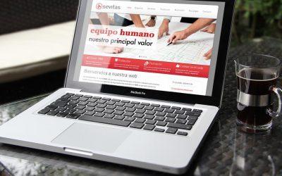 Sevitas confía en DANTIA para el desarrollo de su web corporativa