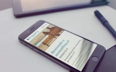 La Asesoría sevillana Aconsulting confía en DANTIA para la puesta en marcha de su nueva web especializada en Despachos Profesionales