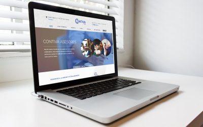La Asesoría madrileña Contiva confía en DANTIA para la puesta en marcha de su nueva web especializada en Despachos Profesionales