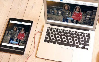 La correduría C&M confía en DANTIA para la puesta en marcha de su nueva web especializada en Despachos Profesionales