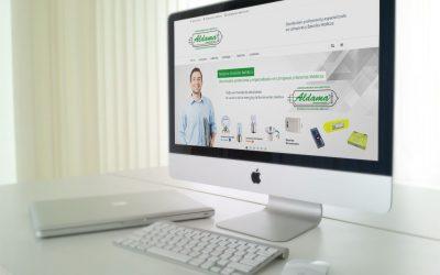 Lamps Aldama confía en DANTIA para el desarrollo de la web corporativa de la empresa