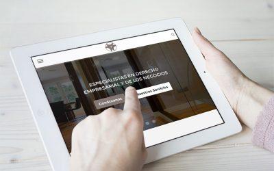 La Firma Palacios de Torres y Asociados confía en DANTIA para la puesta en marcha de su nueva web especializada en Despachos Profesionales