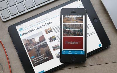 España Radiovisión confía en DANTIA para el desarrollo de su web corporativa para las reproducciones en streaming de la cadena