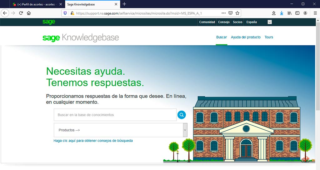 Portal Sage Knowledgebase