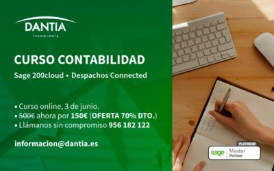 Curso Contabilidad Sage 200cloud • Sage Despachos Connected • 3 de junio, 2020