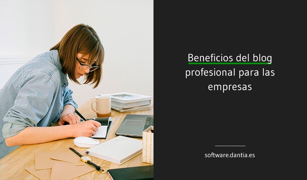 Beneficios del blog profesional para las empresas