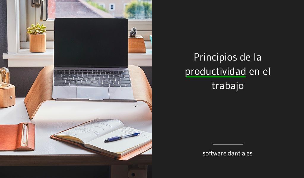 Principios de la productividad en el trabajo