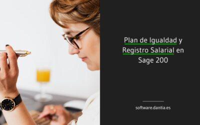Plan de Igualdad y Registro Salarial en Sage 200c