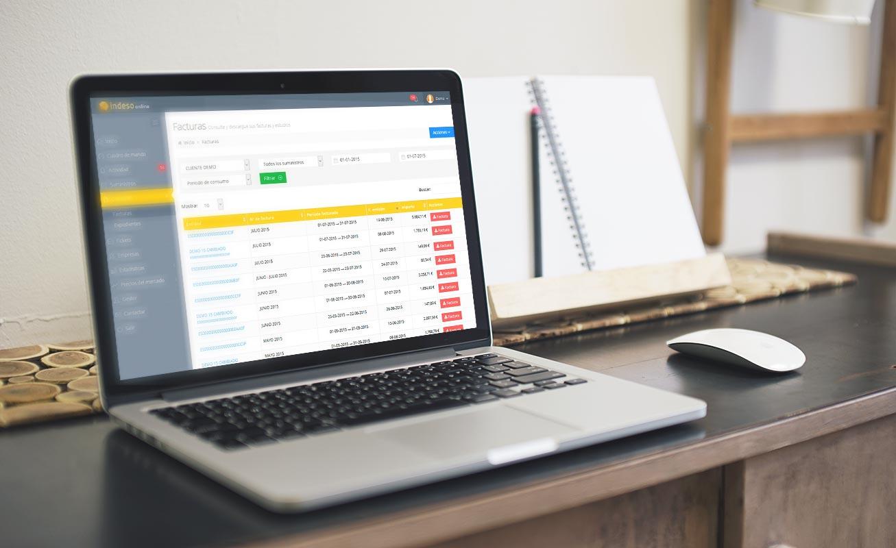 Aplicación Web conectada a Sage 200 de Grupo Indeso