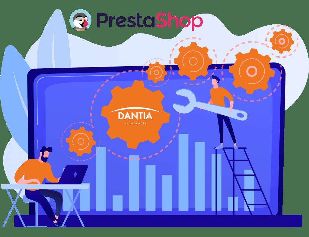 Integramos tu tienda online PrestaShop
