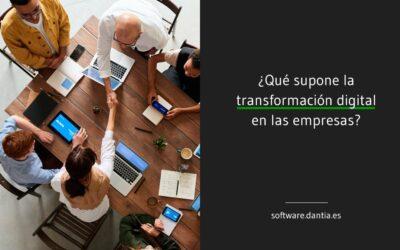 ¿Qué supone la transformación digital en las empresas?