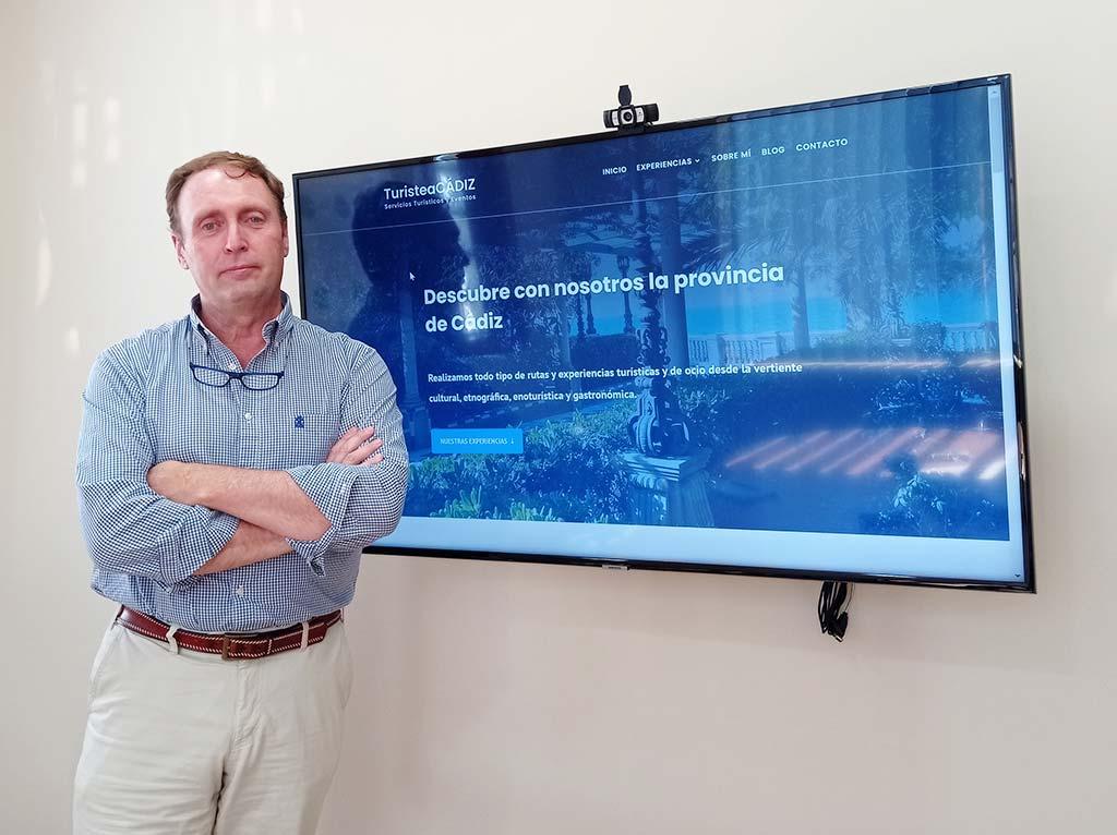 Miguel Ángel Rodríguez al frente de TuristeaCádiz confía en DANTIA Tecnología para el desarrollo de su Página Web Corporativa
